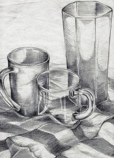 Drawing stilllife | Drawing 03 Still Life by FrauA