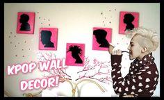 K-DIY Kpop Wall Silhouettes
