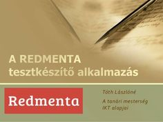 Redmenta Teaching, Education, School, Computer Science, Onderwijs, Learning, Tutorials