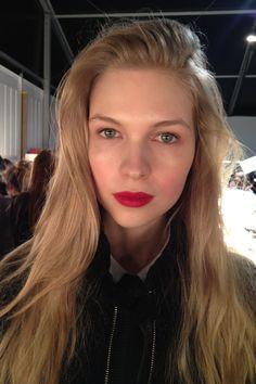 LFW Felder Felder Autumn 2013-14 Beauty Blog (Vogue.com UK)