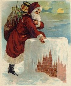 The magic of Santa ~  c1870