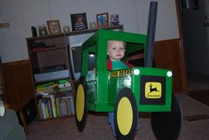 Friday Fun: Halloween Tractor Costumes!