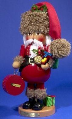 Steinbach SIGNED Vintage Santa German Christmas Nutcracker Made in Germany Adler