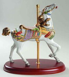 Lenox CAROUSEL ANIMALS FIGURINE Americana Carousel Horse 7574567
