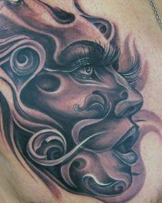 Tattoo by Tony Mancia at Mancia Tattoos in Atlanta, GA
