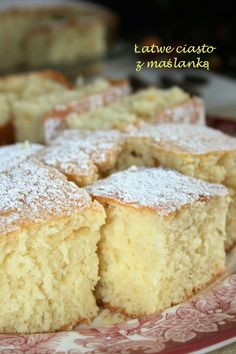 Baking Recipes, Cake Recipes, Polish Recipes, Sweet Cakes, Let Them Eat Cake, Yummy Cakes, Easy Desserts, Love Food, Baked Goods