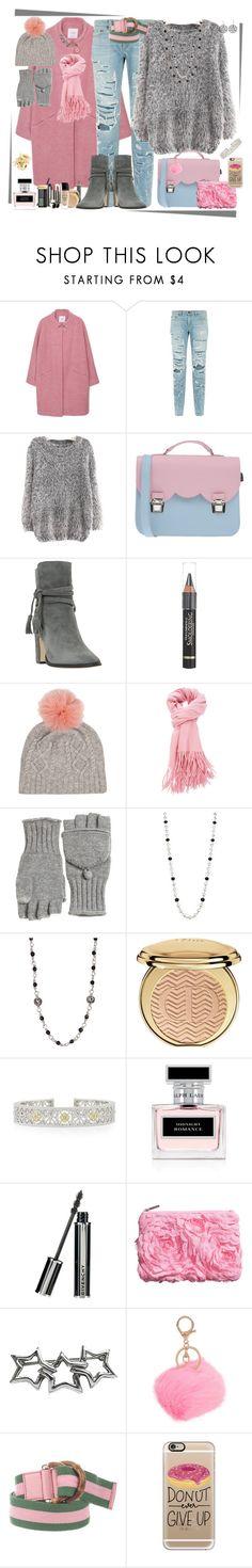 """Pinkie"" by winscotthk ❤ liked on Polyvore featuring MANGO, rag & bone, Chicnova Fashion, La Cartella, Dune, L'Oréal Paris, Calypso St. Barth, Ippolita, Lois Hill and Christian Dior"