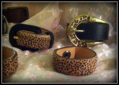 Upcycled Belt Bracelets