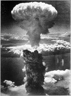 Hiroshima atomic cloud