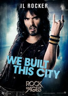 Russel Brand, Lonnie in Rock of Ages: il rocker!!!