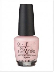 Perfect Light Pink Nail Polish: OPI Bubble Bath