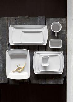 SEDONA by Anfora - White #steelite #tabletop