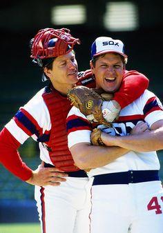Carlton Fisk and Tom Seaver, Chicago White Sox
