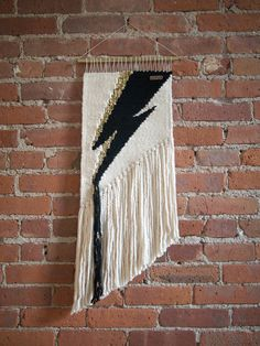 Handmade Woven Wall Art - The Bowie - READY TO SHIP by TheUrbanLoomShop on Etsy