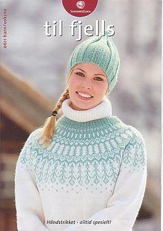 dk garn og opskrift finder du i min shop Fair Isle Knitting, Hand Knitting, Knitting Patterns Free, Knit Patterns, Free Pattern, Fair Isle Pullover, Norwegian Knitting, Knit Crochet, Crochet Hats