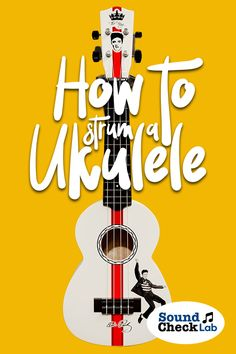 A Guide On How To Strum A Ukulele Learning how to strum a Ukulele is the first step to playing songs. Here is our guide for beginners/ dummies on how to properly strum a Ukulele. Guitar Reviews, Digital Piano, Fun To Be One, Acoustic Guitar, Ukulele, Musical Instruments, Musicals, Songs, Learning