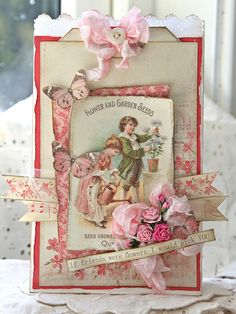 Hi everybody... today I have a paper bag to show you with beautiful papers from Vintage Garden. I really LOVE these papers, beautiful colors and details ♥The lovely peony-tag inside.Wish you all a great day!Anne KristinePion products:Vintage Garden – Images PD3609Vintage Garden –…