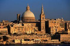 Malta's capital Valletta, UNESCO World Heritage Site