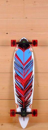 """Landyachtz Prebuilt 36"""" Maple Chief Feather Longboard Complete"""