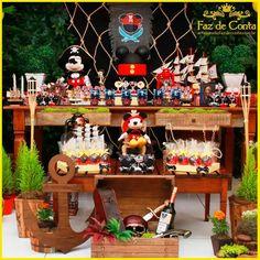 Decoração festa Mickey Pirata Fonte: Google