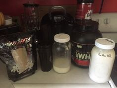 Fast after lunch shake, with Shakeology and home cultured raw buttermilk.  So easy to make! Who makes or would like to make buttermilk? #fitdad #nomnom #beachbodycoach