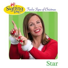 What's the ASL sign for Star? Sign Language Book, American Sign Language, Holiday Signs, Christmas Signs, Christmas Crafts, Asl Signs, The Nativity Story, Red Sign, Deaf Culture