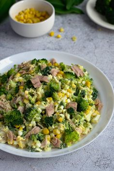Salad Recipes, Healthy Recipes, Food And Drink, Healthy Eating, Lunch, Vegetables, Cooking, Impreza, Drinks