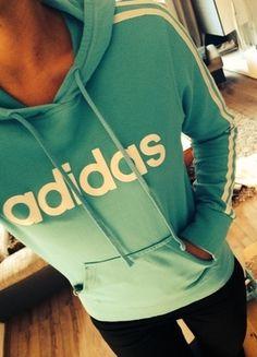 Kaufe meinen Artikel bei #Kleiderkreisel http://www.kleiderkreisel.de/damenmode/pullis-and-sweatshirts-hoodies/72297322-adidas-hoodie-turkis-adidas-hoodie-new