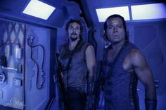 Ronon and Teal'c - my two favorite aliens