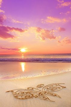 A message from Archangel Jophiel . Remember to enjoy the beauty of nature- it will revitalize your soul and bring peace to your heart. Amazing Sunsets, Amazing Nature, Pretty Pictures, Cool Photos, Archangel Jophiel, Beach Images, Cute Wallpaper Backgrounds, Beach Scenes, Beach Art
