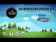 Игра HiLiGHT для WINDOWS PHONE 8.1 Обзор на коленке #game #windowsphone #windows #hilight