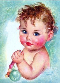Illustration divers - Bébés d'antan