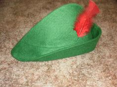 diy Peter Pan Hat for guys.