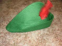 diy Peter Pan Hat for guys.
