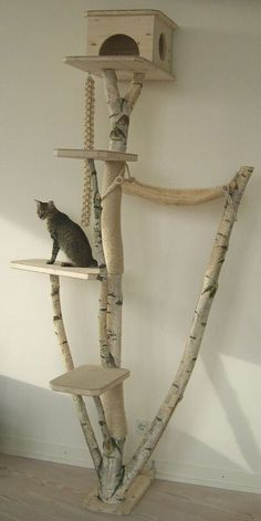 Décoration arbre à chat