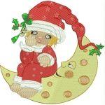 Adorable Cloe At Christmas