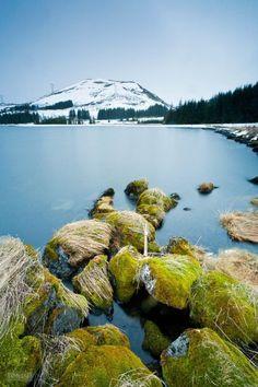 Lake Thingvellir, Iceland.