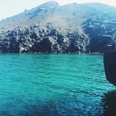The day I visited Nea Kameni  #volcano #island #santorini #greece #aegonsea #europe #eurotrip #vsco #vscocam #vscofeature #vscogood #adventure #explore #travelphotography #igers #travel #awesomeearth by krystidower
