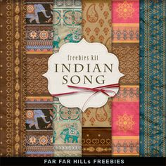 Far Far Hill: Freebies Backgrounds Kit - Indian Song