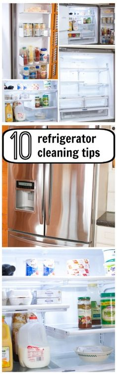 Refrigerator Cleaning Tips, Printable Maintenance Schedule and Chore Chart