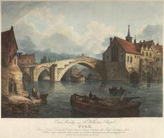 Old Ouse Bridge Art Uk, Ancestry, Bridges, Yorkshire, Places To Visit, Photographs, England, Memories, Painting