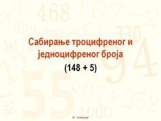 Sabiranje do 1000 (148+5)