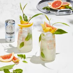 Not your average mojito. Impress your guests with this summer staple. Made with Cascade Soda Water. Drink responsibly Not your average mojito. Impress your guests with this summer staple. Made with Cascade Soda Water. Summer Cocktails, Cocktail Drinks, Christmas Brunch, Christmas 2019, Non Alcoholic Drinks, Drinks Alcohol, Road Trip Food, Grown Up Parties, Premium Vodka