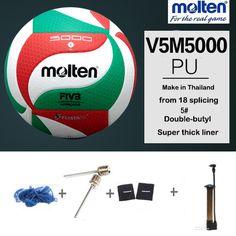 sale original molten volleyball v5m5000 new brand high quality genuine molten pu material official 2 #molten #volleyball