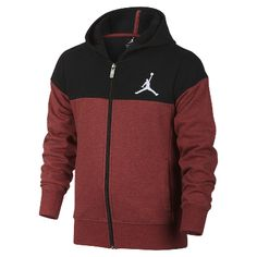 on sale 4ba5a a3434 Jordan Quilted Full-Zip Red Black, Nike Air Jordans, Closure, Pockets,