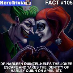 QOTD: Who has been April Fooled today? #Joker #HarleyQuinn by devilzsmile.com #devilzsmile