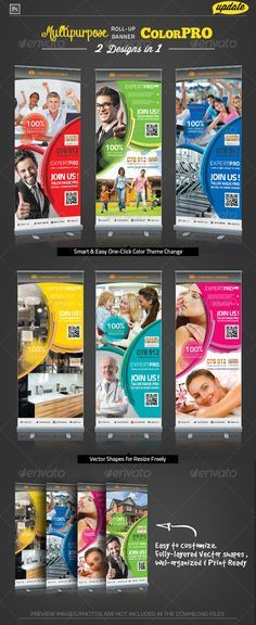 Corporate Roll-up Banner - Expert Pro