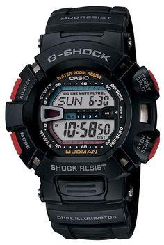 "Casio Men's G9000-1V """"G-Shock"""" Digital Sport Watch"