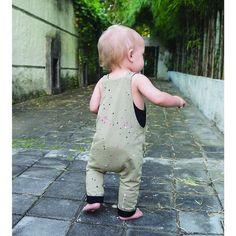 Baumwolle Jahre Strampler Body Woolworth Pom PAJAMA Sleepwear Pom Kinder 50er zMUVSp