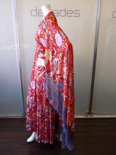 vintage missoni 60&39s kaftan  Missoni Vintage Floral Gown With ...